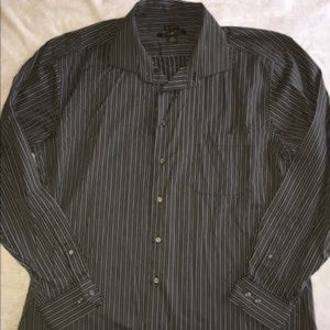 Men's Pronto Uomo Non-Iron Dress Shirt Size XXL